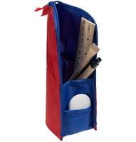 Пенал-подставка Standpoint, красный с синим