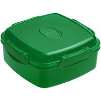 Ланчбокс Cube, зеленый