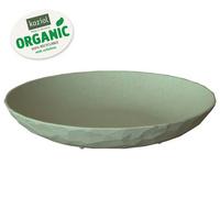 Тарелка суповая Club Organic, зеленая