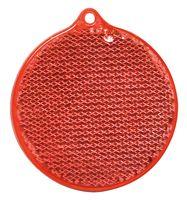 Пешеходный светоотражатель «Круг», красный